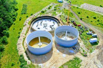 Biogas plant Slawoborze - Poland